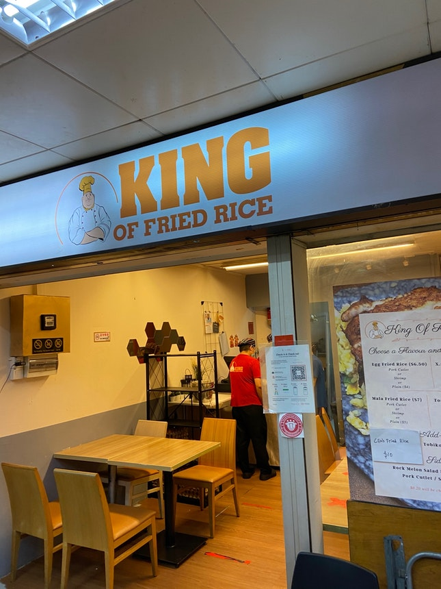 Fried Rice With Pork Chop