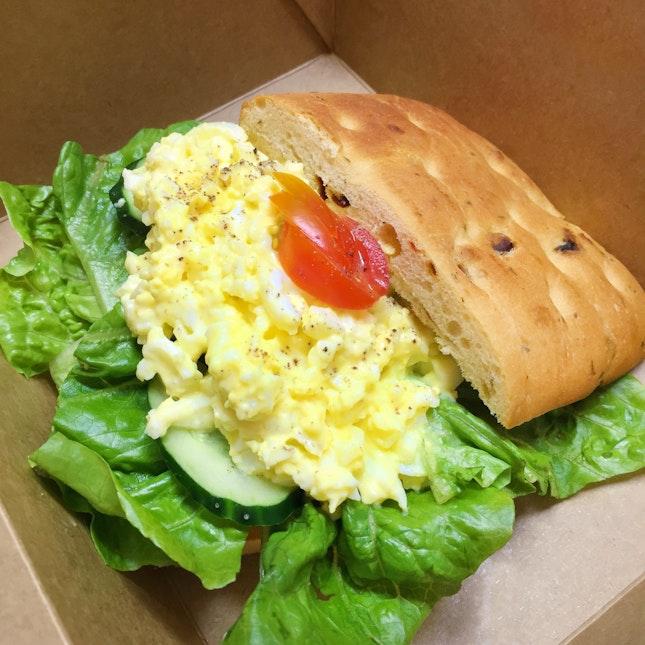 Truffle Egg Mayo Sandwich (S$8)