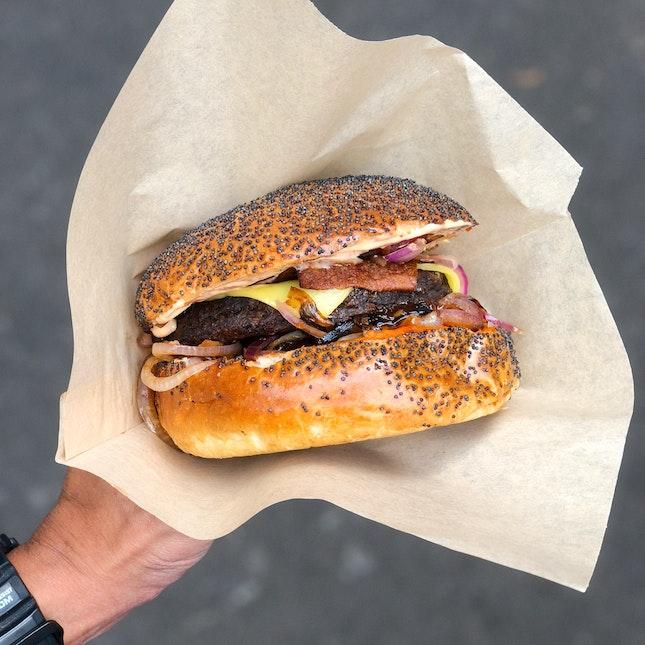 The Holy Smoke Burger (£8)