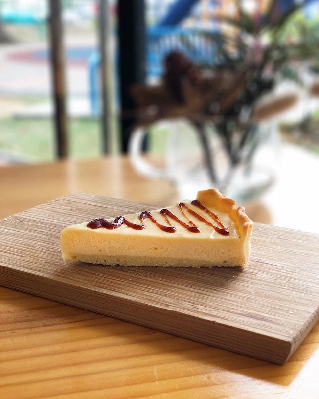 Miso Cheese Tart ($6)