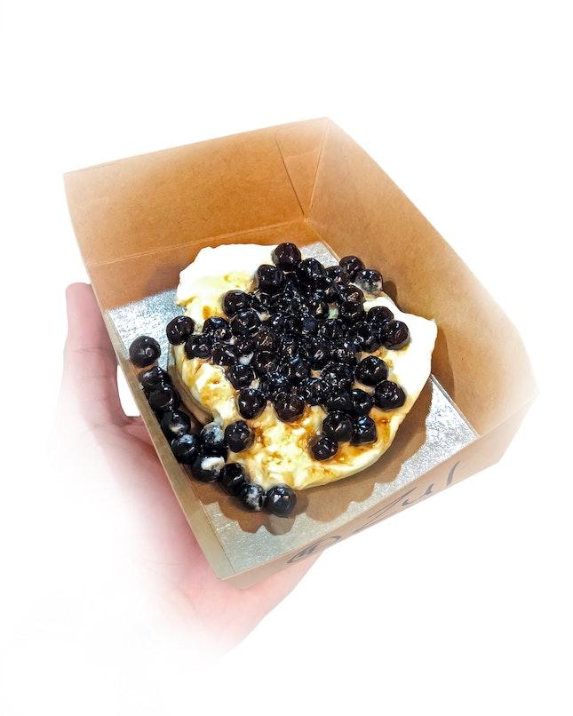 Pancake Stack with Boba ($8)