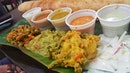It's never a bad thing to be spoilt for choice what to dip your thosai into!