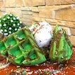 East Turns West with an Ondeh-Ondeh Waffle