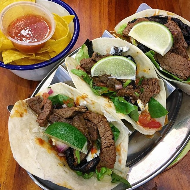 Carne Asada (Beef) Tacos