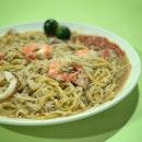 Fried Hokkien Prawn Noodle