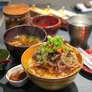 Beef Sukiyaki Don Keisuke