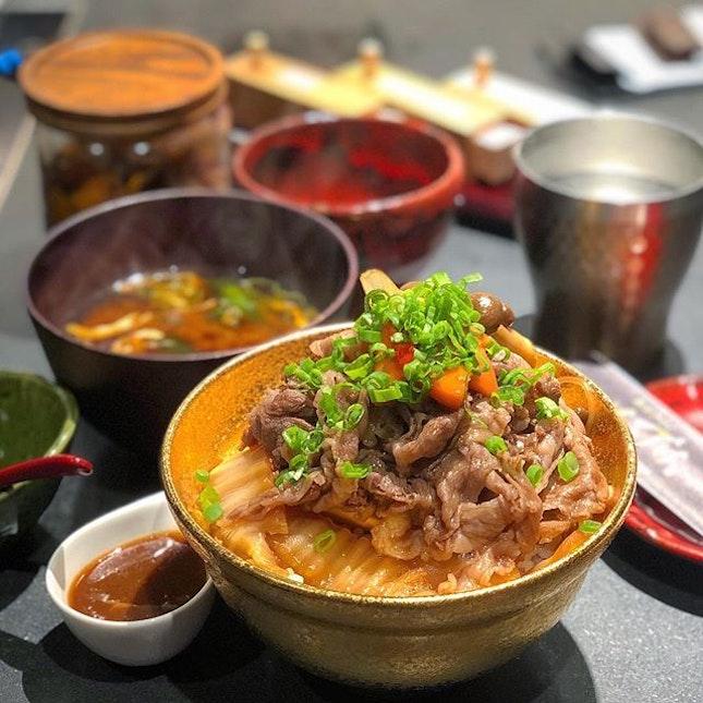 Kiwami Beef Sukiyaki Don