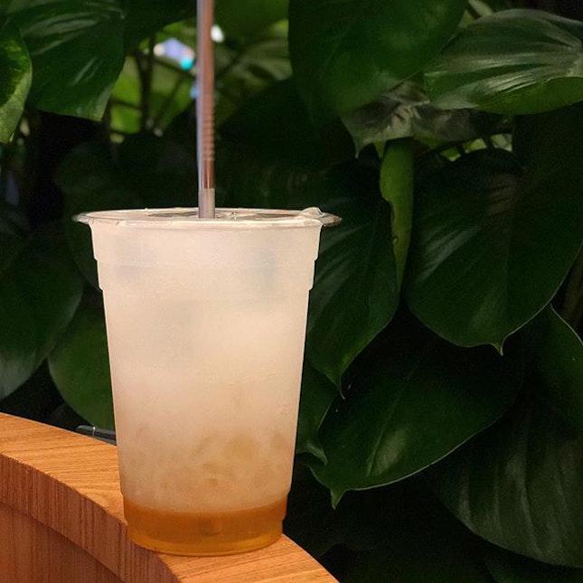 Honey Calpis with Lemon Aiyu