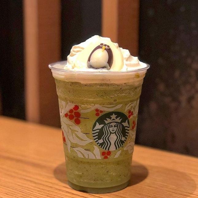 Green Tea Java Chip Frappuccino