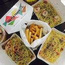 SMUggled into SMU for pasta ystd!