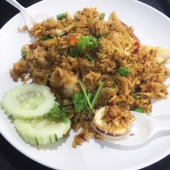 Tom Yum Fried Rice ($5)