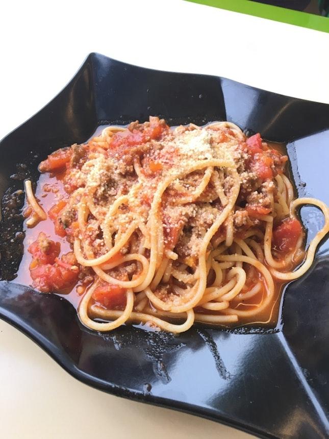 Bolognaise Spaghetti ($9 + GST)