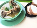 Soup Tulang + Bread ($7+$1+GST)
