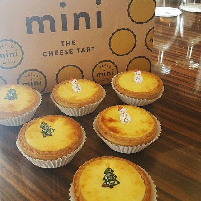 Finally tried the pablo mini cheese tart!