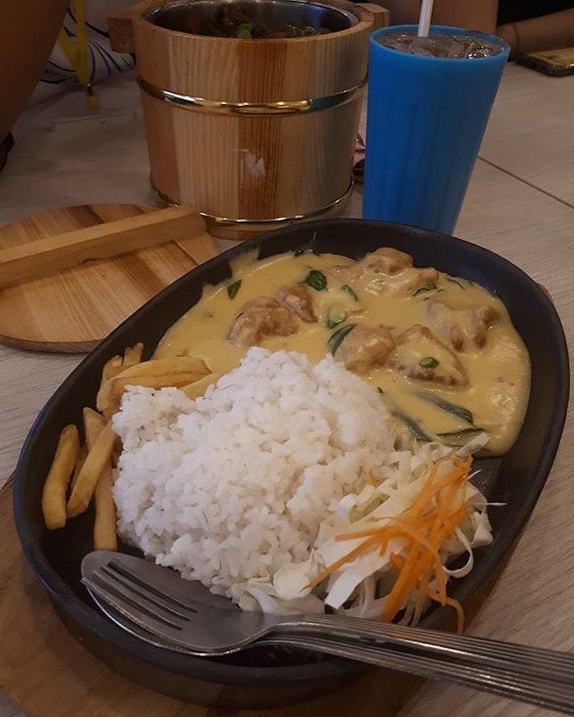 Buttermilk chicken rice (RM9?!!