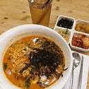 Precious me time during lunch today admist busy schedule ❤️ #ramyeon Glad that Prof.