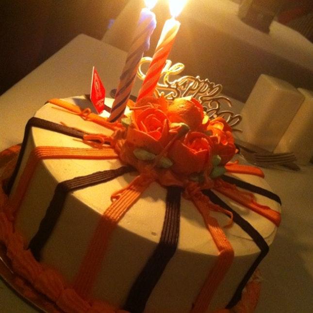 Xiang's bday cake