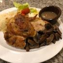 Slow Roasted Quarter Chicken