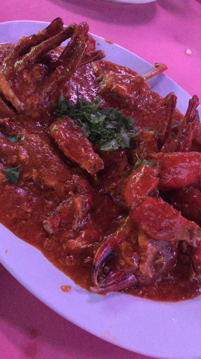 BEST Chilli Crab! 🦀🦀🦀