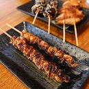 Satisfied my craving for some yakitori at Q-Wa.