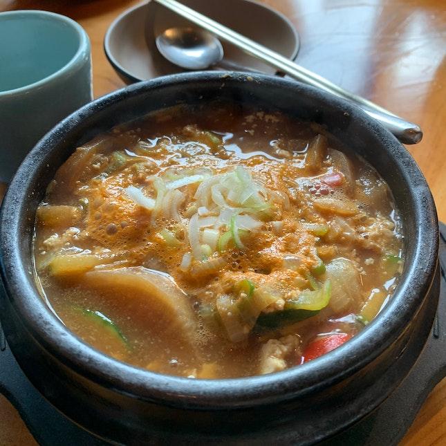 Soybean Stew (Doenjjang Jiggae)