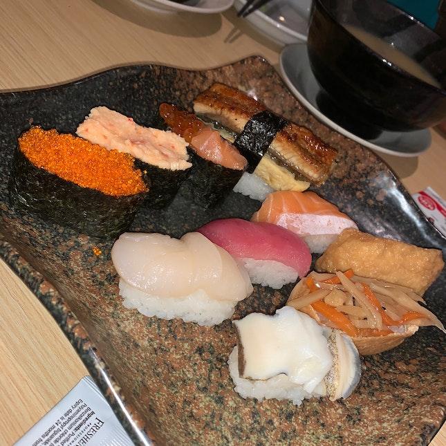 Momiji Sushi ($16+)