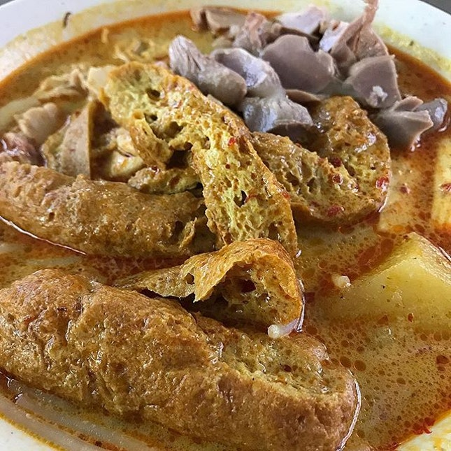 Chicken Curry Noodle Lunch with this weather....