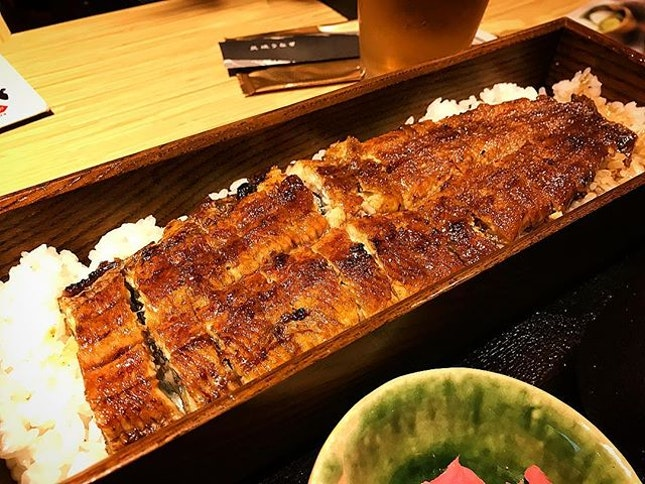 Trying the new unagi place for the first time..