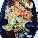 Fried Hokkien Big Prawn Mee