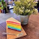HAPPY RAINBOW CAKE