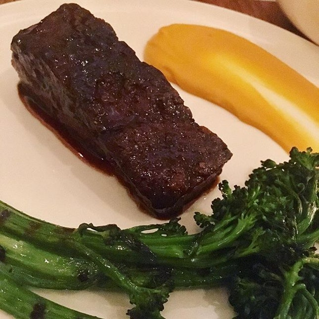 36 hour slow cooked beef short ribs.