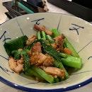Vegetables Tossed In Lard And Garlic