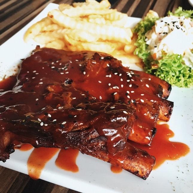 BBQ Pork Ribs RM30