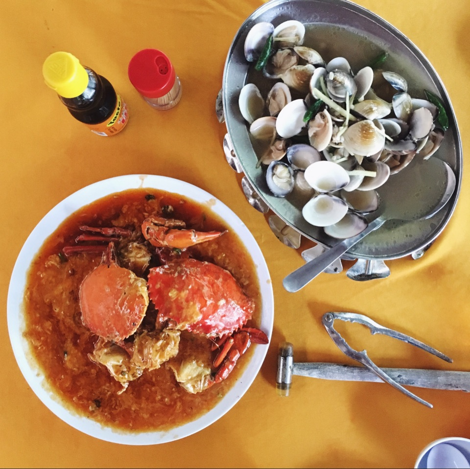 For Seafood in the City | Chilli Crab (RM80 for 2), Steamed Lala Soup (RM18), Fried Mantou (RM2/pc)
