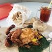 Nasi Kukus Ayam Goreng (RM6) | Keropok (RM3) | Teh 'O Ais (RM1.30)