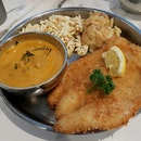 Fish & Chips With Tom Yam Sauce