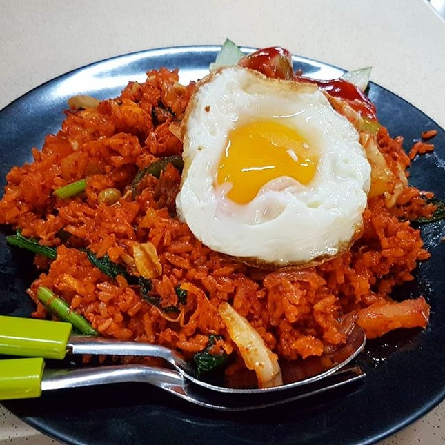 Nasi Goreng with Fried Egg ($5)