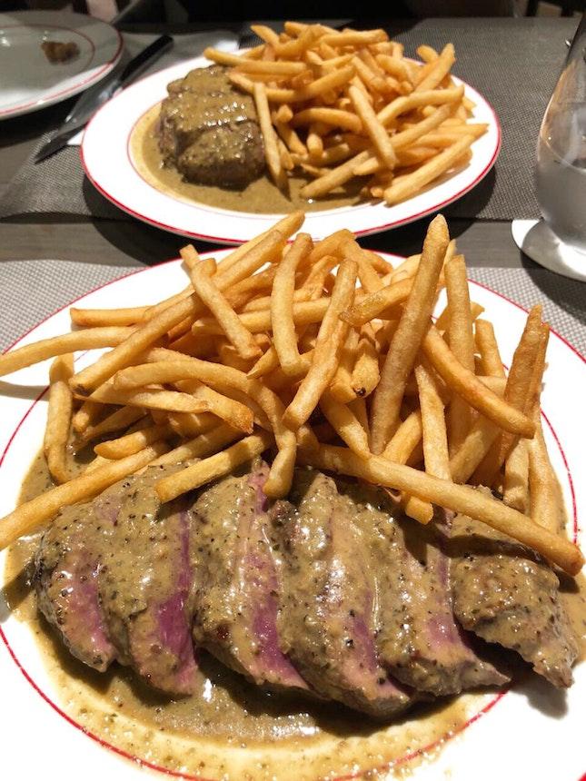 L'entrecote Steak ($34.90)