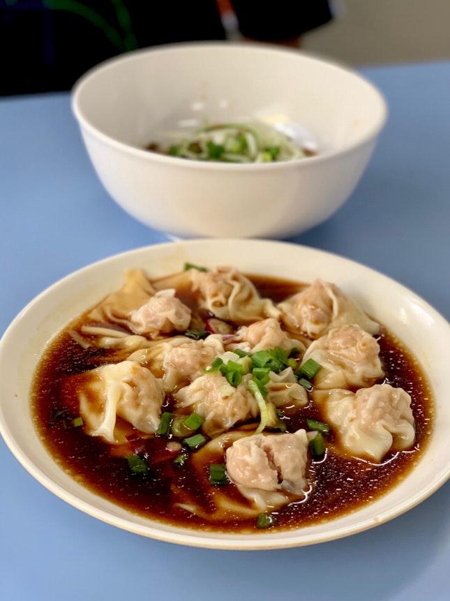 Zha Jiang Mian And Chilli Oil Dumplings