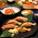 Uoshin Salmon Zen lunch set ($16) recommended by the staff.
