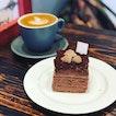Milo Gao Kosong & milo nuggets in a cake?