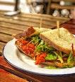 Tandoori Chicken Sandwich ($15.8++)