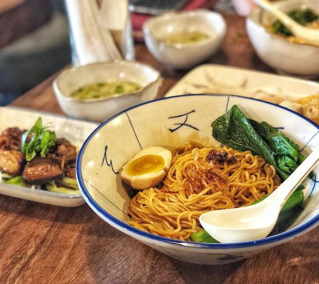 Mr Su's La Mian Dry (Lunch Set, $12)