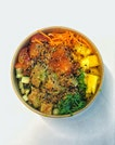 Avocado Miso Salmon Poke Bowl ($12.9)
