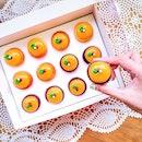 Twelve Cupcakes have created mandarin orange cupcakes for Chinese New Year!