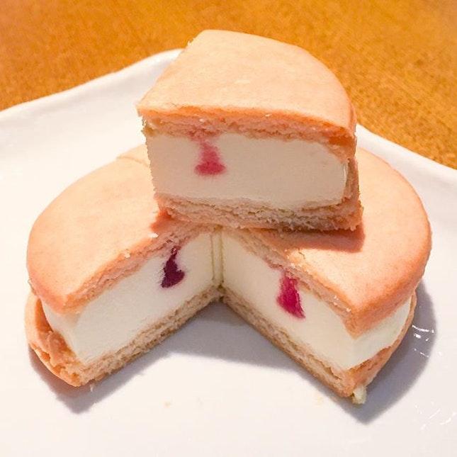 Rare Cheese Cake Sand ($3.80), one of the items on Sushi Tei's seasonal menu, Scrumptious Affairs.