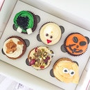 Halloween cupcakes from @twelvecupcakes, available from now till 31 October 2015.