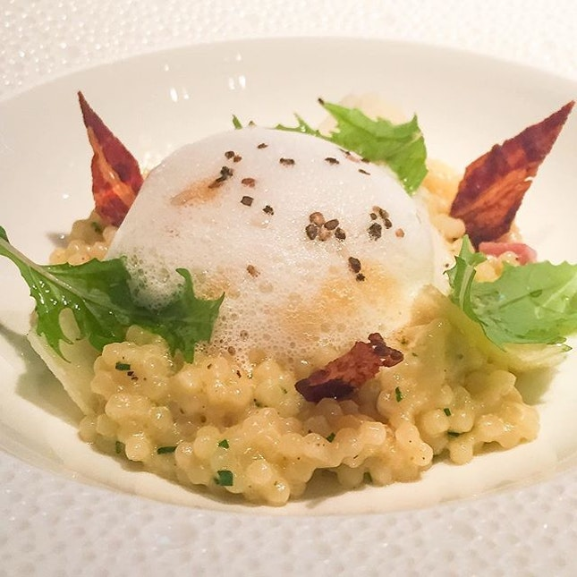 """""""Pre-theatre"""" set dinner at L'atelier De Joel Robuchon for only $40 between 5.30pm to 6.30pm!"""