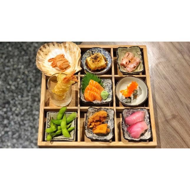 | 🍱 Tasty Japanese 3x3 Grid Box !...