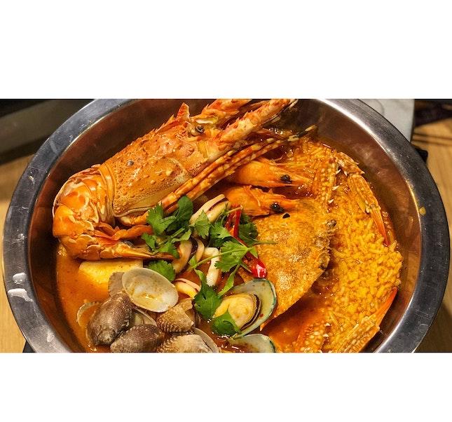   🍛 Yummy Thai Seafood Porridge !...